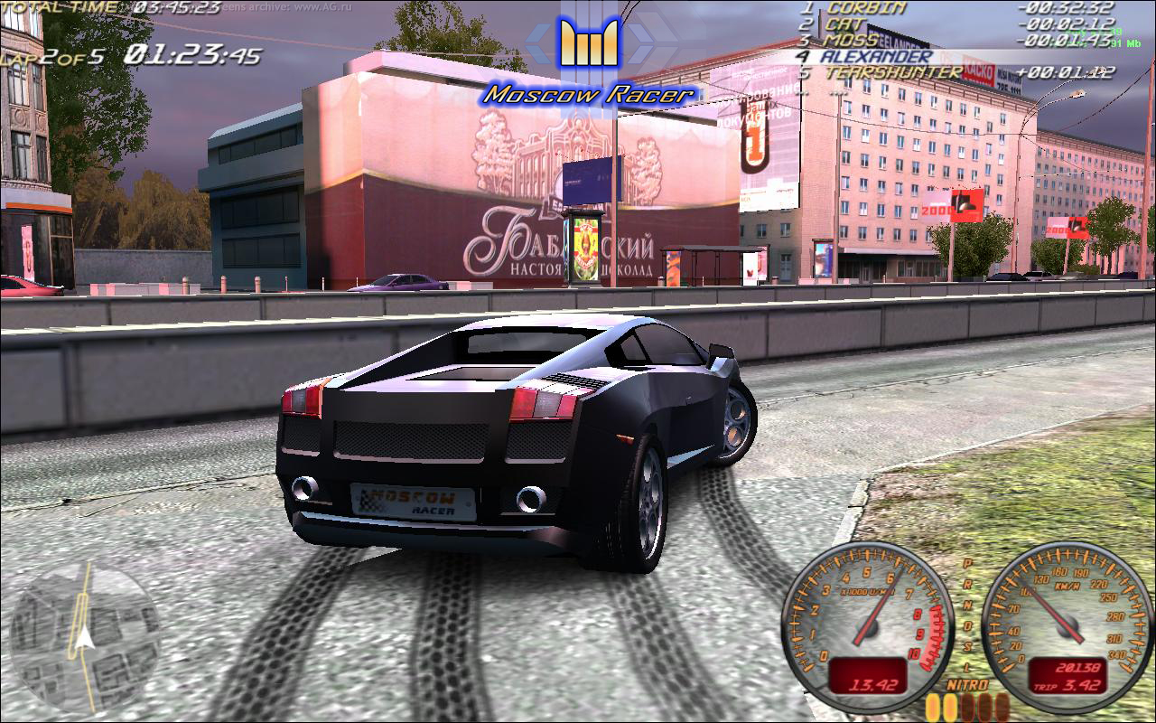 Moscow Racer (2009) .